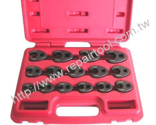 15 pcs Carw Foot Wrench Set