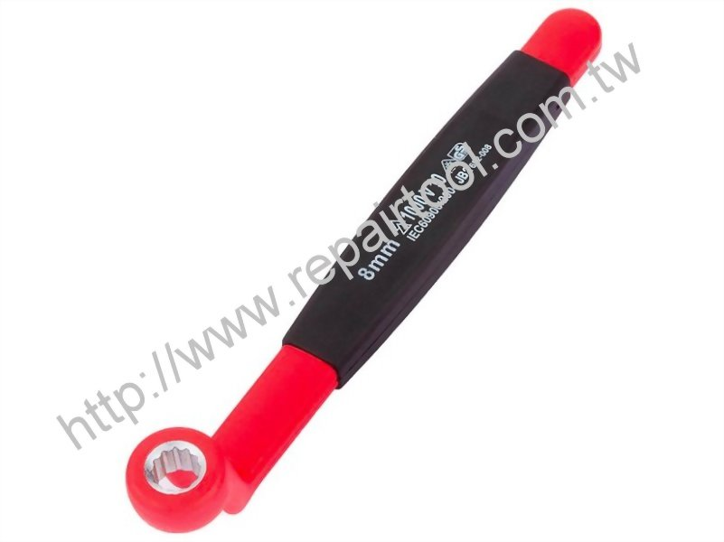 1000V Insulated 75 Degree Offset Box End Wrench