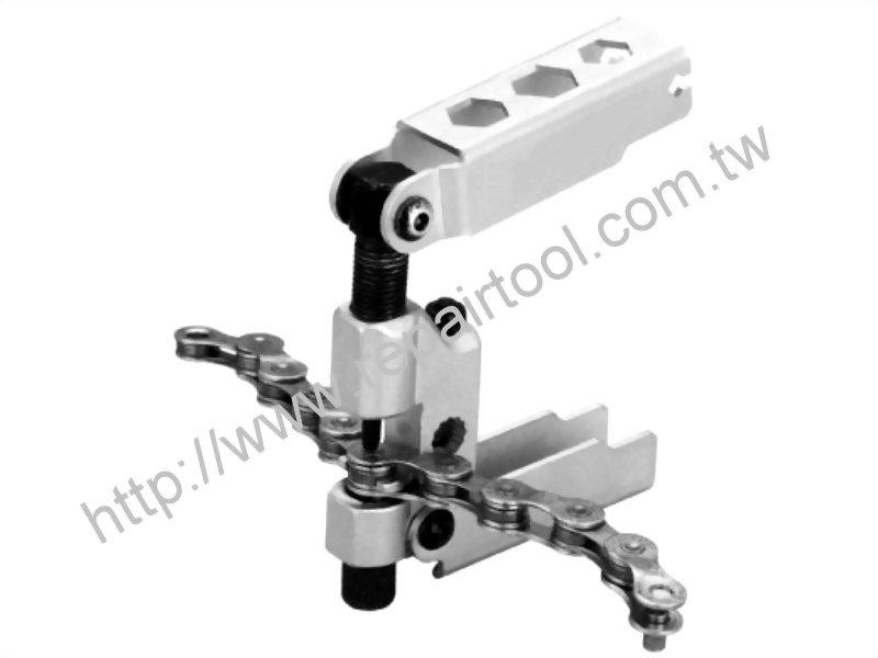 Folding Chain Rivet Extractor