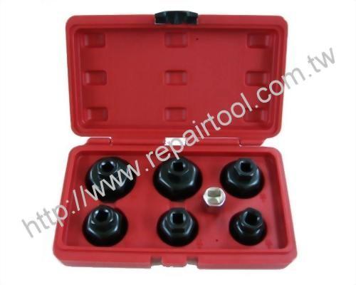 6 pcs Oil Filter Wrench Set