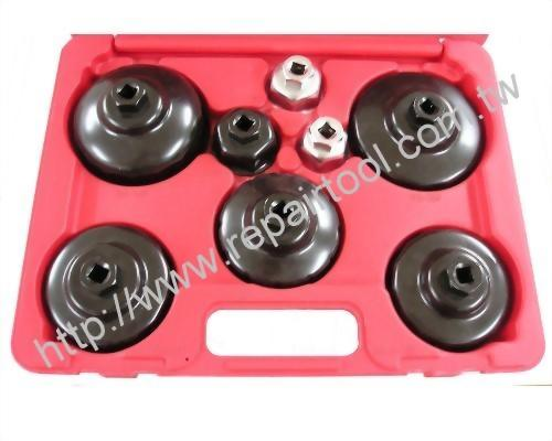 9PC Cup Type Oil Filter Set