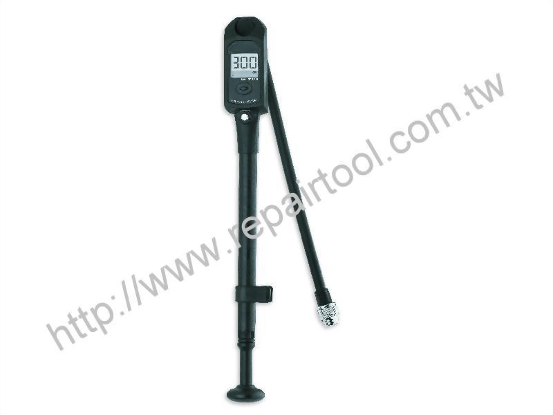 Aluminum Shock Pump w/ Digital Gauge