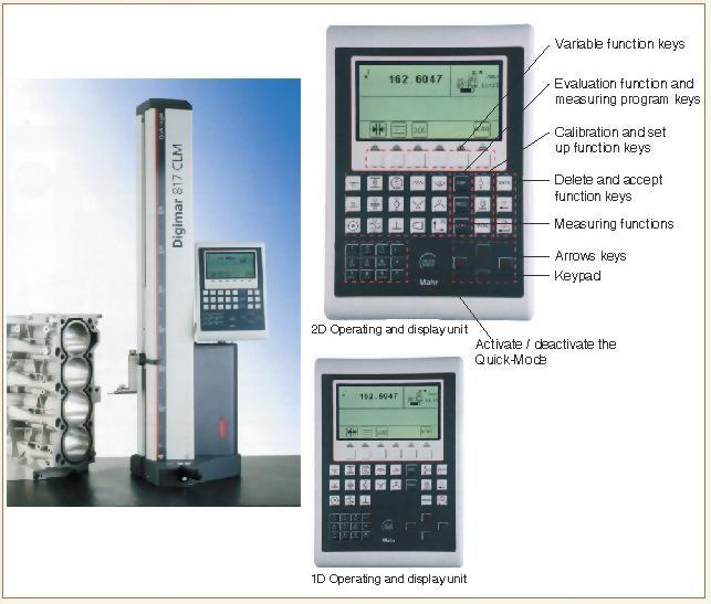 高精度高度量測儀 817 CLM