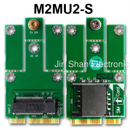 M.2(USB) to mPCIe
