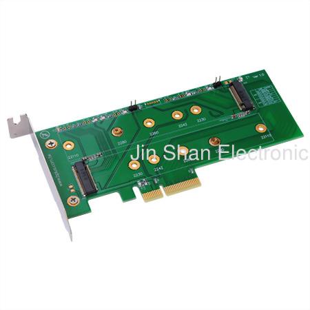 M.2(PCIeSSD) to PCIe4x