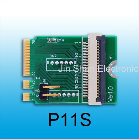 PCIe(Dual) to M.2