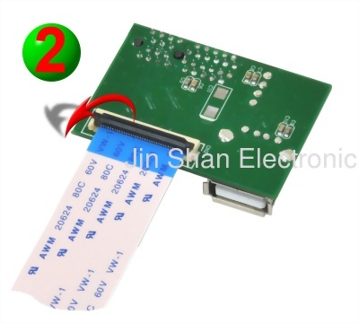 PCIe to mPCIe Extender(FFC)