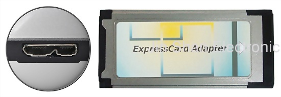 USB3.0 AType to ExpressCard34/54 32GB