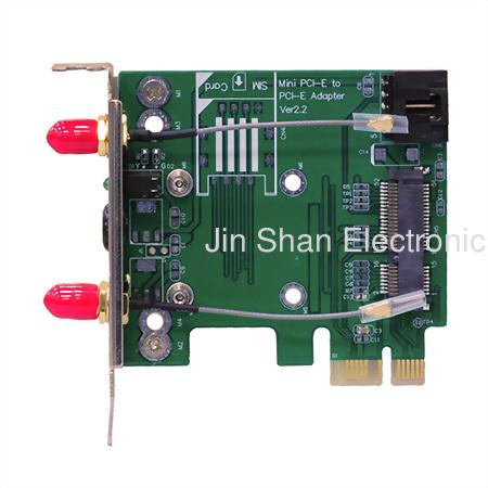 mPCIe to PCIe