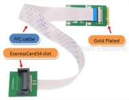 ExpressCard to PCIe Extender(FFC)