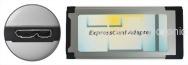 DV专用32GB快闪记忆ExpressCard转USB3.0读卡器