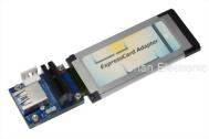 PCI-Express 或 USB 3.0 轉 ExpressCard 連接器