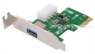 USB3.0的 PCIE2.0擴展板1埠