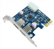 2 Port USB3.0 to PCIe Adapter