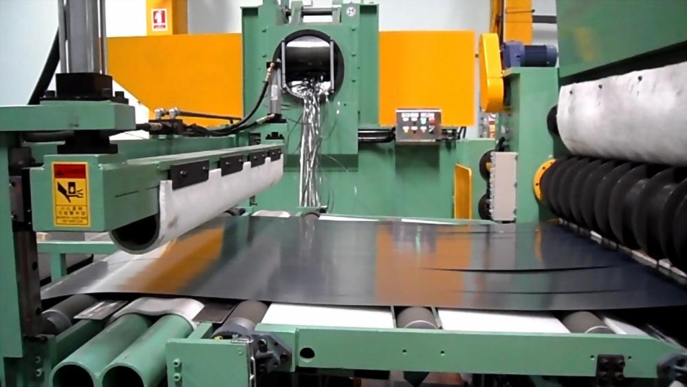 0.1/0.2~1.6 mmt Slitting Line – Ultra thin material