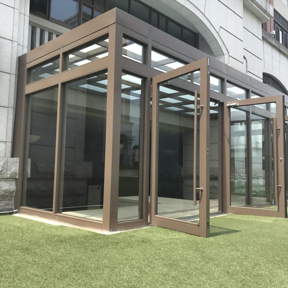 玻璃採光除風室