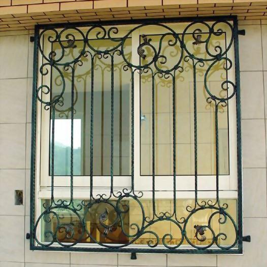 鍛造防盜窗
