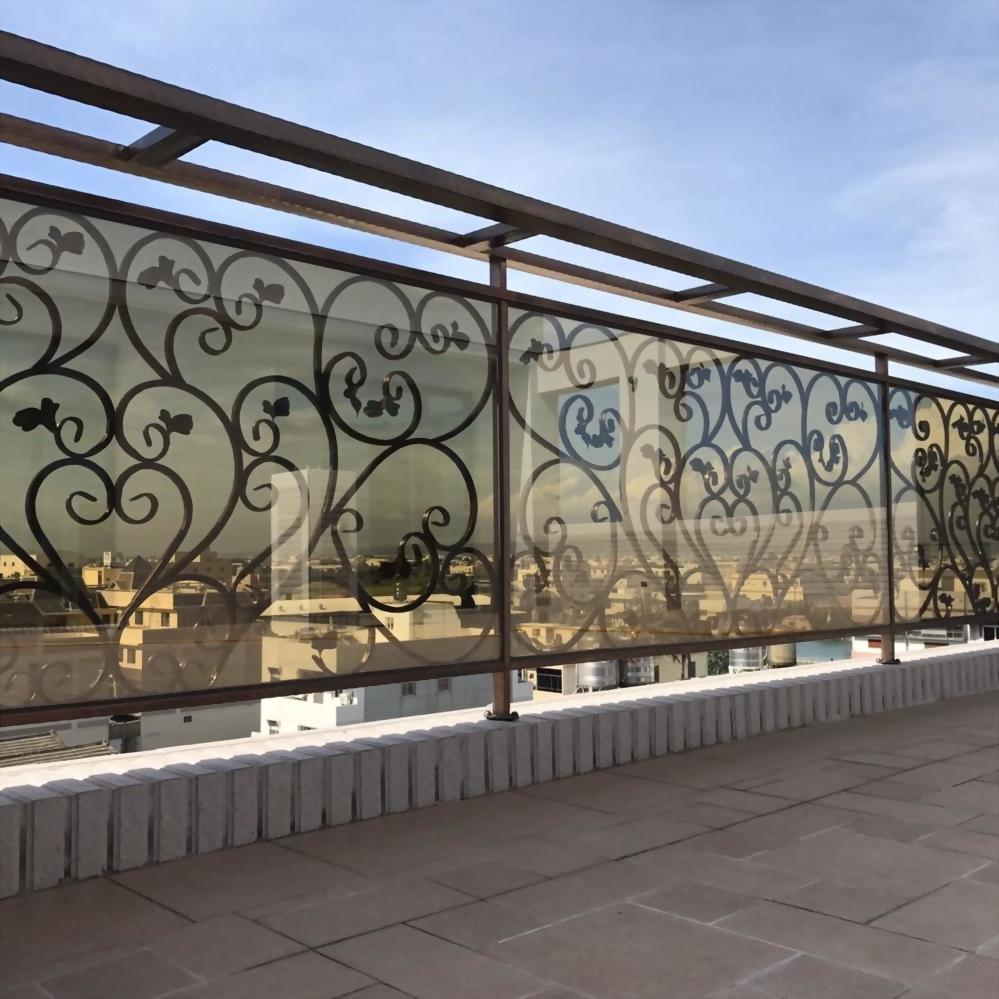 玻璃鍛花欄杆