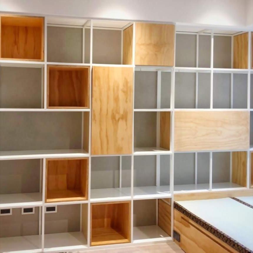 鐵件設計書櫃