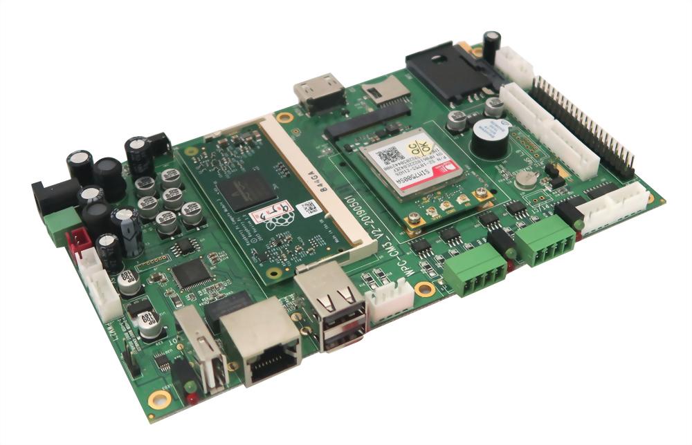 Raspberry Pi CM3+ WPC-632-PI CM3-EB
