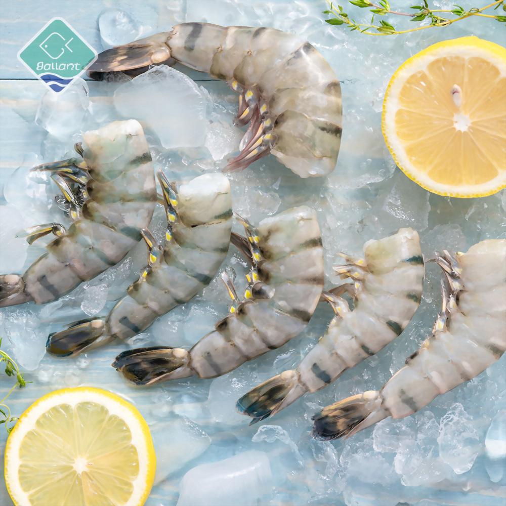 Head Less Shell On Black Tiger Shrimp
