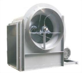 傳統多翼皮帶式抽送風機 - 型二 S2