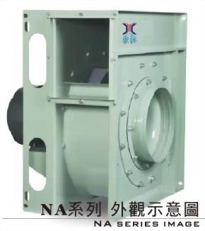 NA - 300H 10 HP 透浦式抽送風機