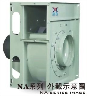 NA - 300L 7.5 HP 透浦式抽送風機