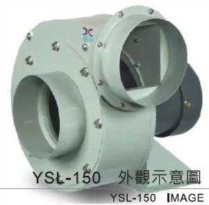 YSL - 150 透浦式鼓風機