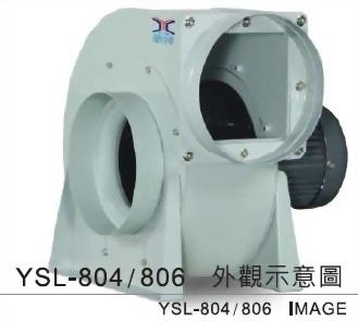 YSL - 804 , YSL - 806 透浦式鼓風機