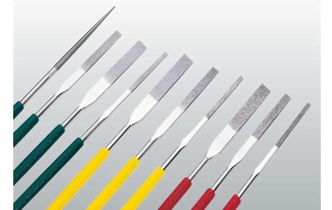 鑽石平斜銼刀PTF-10