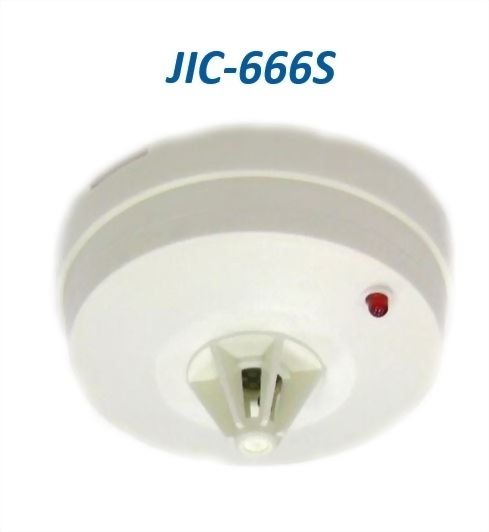JIC-666S RATE OF RISE & FIXED HEAT DETECTOR