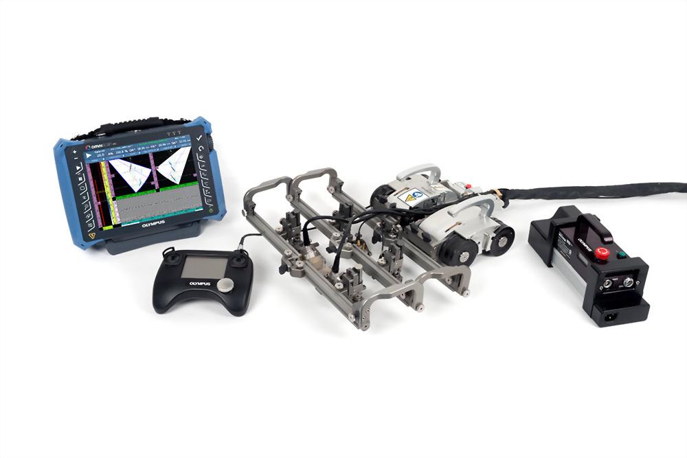遙控式焊道腐蝕掃描器