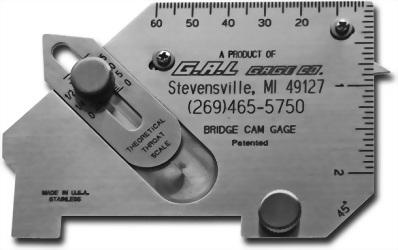 G.A.L GAUGE 橋式焊道規