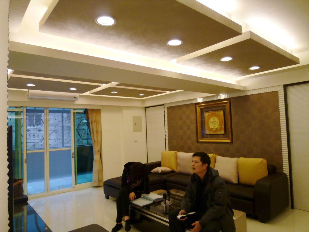間接照明造型天花板