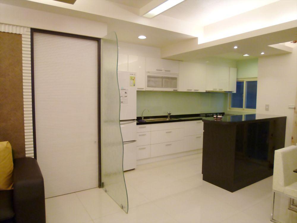 廚房造型隔屏