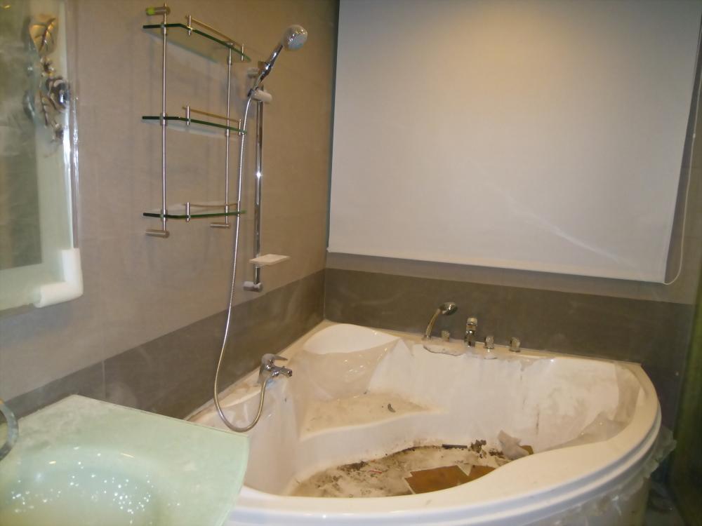 主浴三角形浴缸