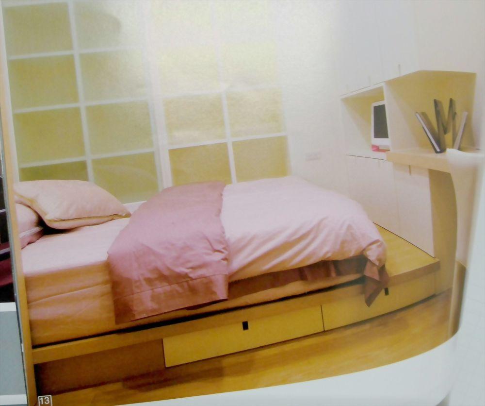 小孩房床座