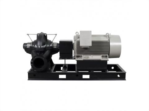 正益泵浦工業 - 雙吸式聯軸離心泵浦法蘭口製造商、雙吸式聯軸離心泵浦廠商推薦