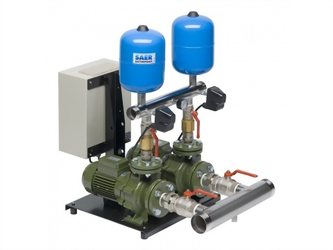 正益泵浦工業 - 雙機恆壓變頻交替並列加壓機組製造商