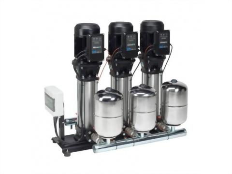 正益泵浦工業 - 三機恆壓變頻交替並列加壓機組製造商推薦