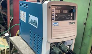 數位變頻式氬焊機 DT300PIII 安裝完成