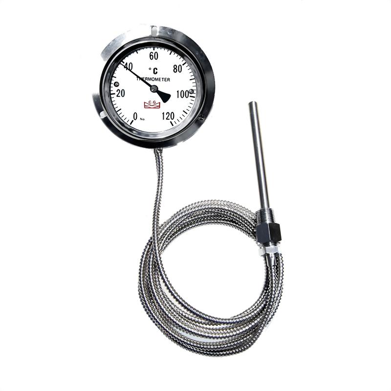 指針式隔測雙金屬溫度計 壁掛型|雙金屬溫度錶│工業用溫度計 - 昌揚科技有限公司