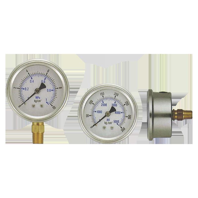 半不鏽鋼密閉壓力錶