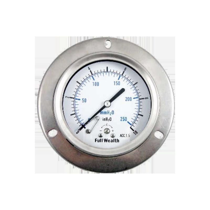 全不銹鋼微壓錶