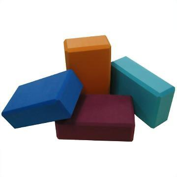 Ewedoos Yoga Blocks 2 Pack Eco Friendly Yoga Block High-Density Non-Slip Yoga Block Set for Yoga Pilates