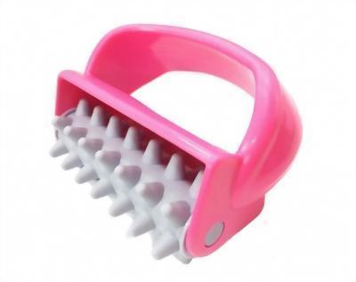Handle fat press press roller massager