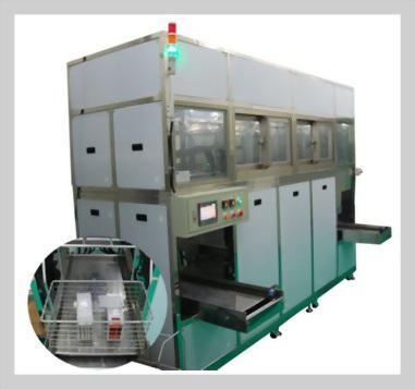 同步多軸式真空清洗機,精細清洗機,工業清洗設備