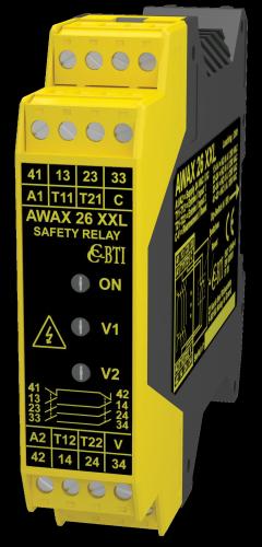 AWAX 26XXL 安全繼電器