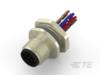 M12公接點鈑端後鎖式8&12PIN (RPC-M12-MB-8/12CON-PG9-X.XLAU) (T41712X000800X)(後鎖式)